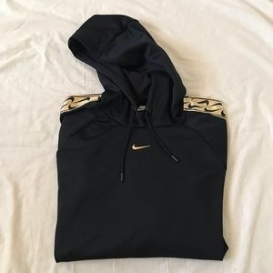 Nike Blk and Gold Hoodie